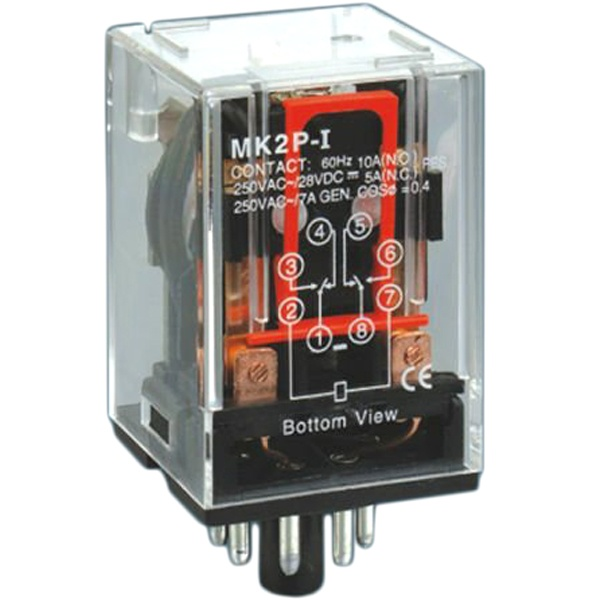 Mk2p Auxiliary Relay Power Relay Omron Relay